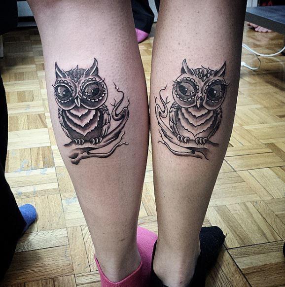 Best Friend Owl Tattoos