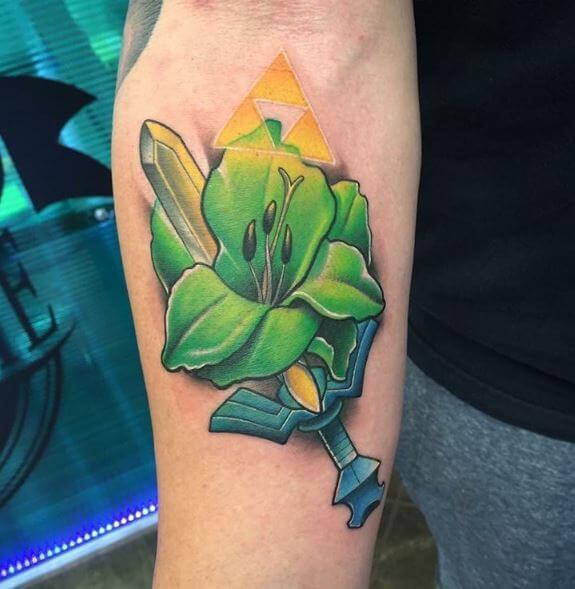 Besutiful Zelda Tattoos