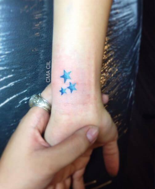 Blue Star Tattoo