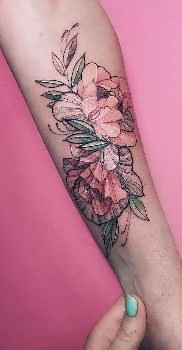 220 Flower Tattoos Meanings And Symbolism 2020 Different Type Of Designs Ideas