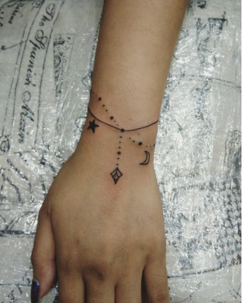 Bracelet Tattoo For Women