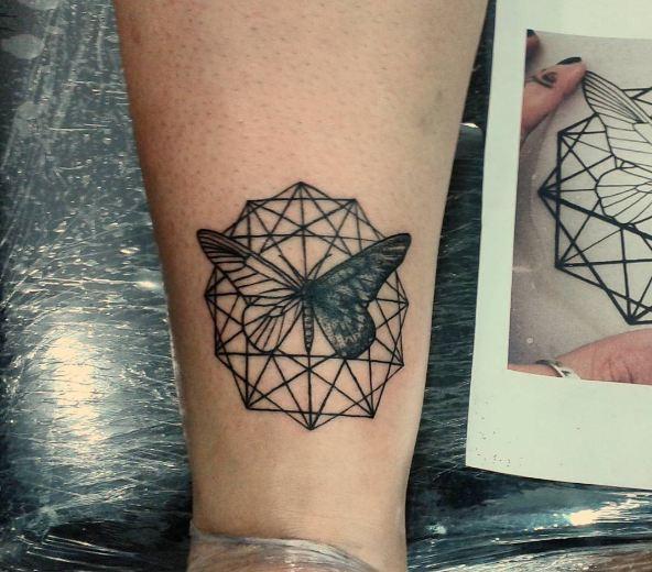 Butterfly Feminine Tattoos