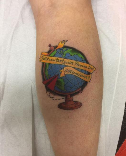 Calf Tattoos Designs