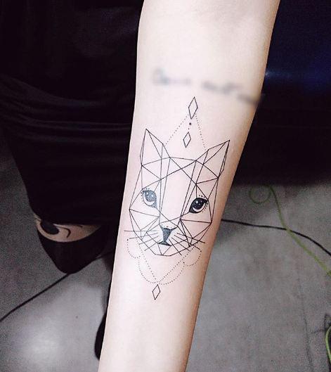 Cat Feminine Tattoos