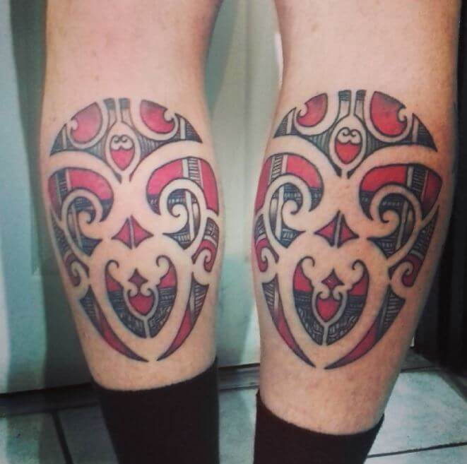Cool Calf Tattoos For Guys