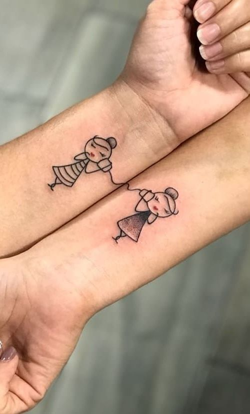 Cool Tattoos For Best Friends (9)
