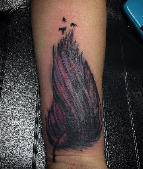 Dark Feather Tattoos