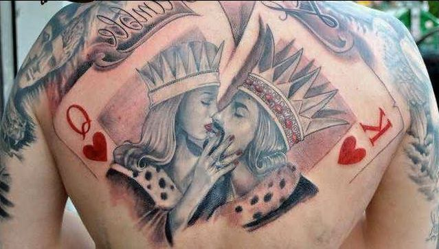 Egyptian King And Queen Tattoos