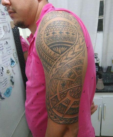 Fish Maori Tattoos