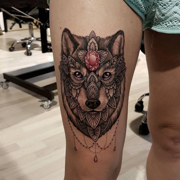 Fox Feminine Tattoos