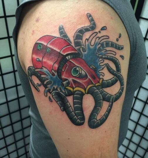 Fresh Ink Octopus Tattoos