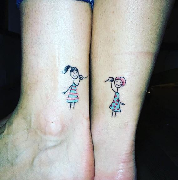 Funny Best Friend Tattoos