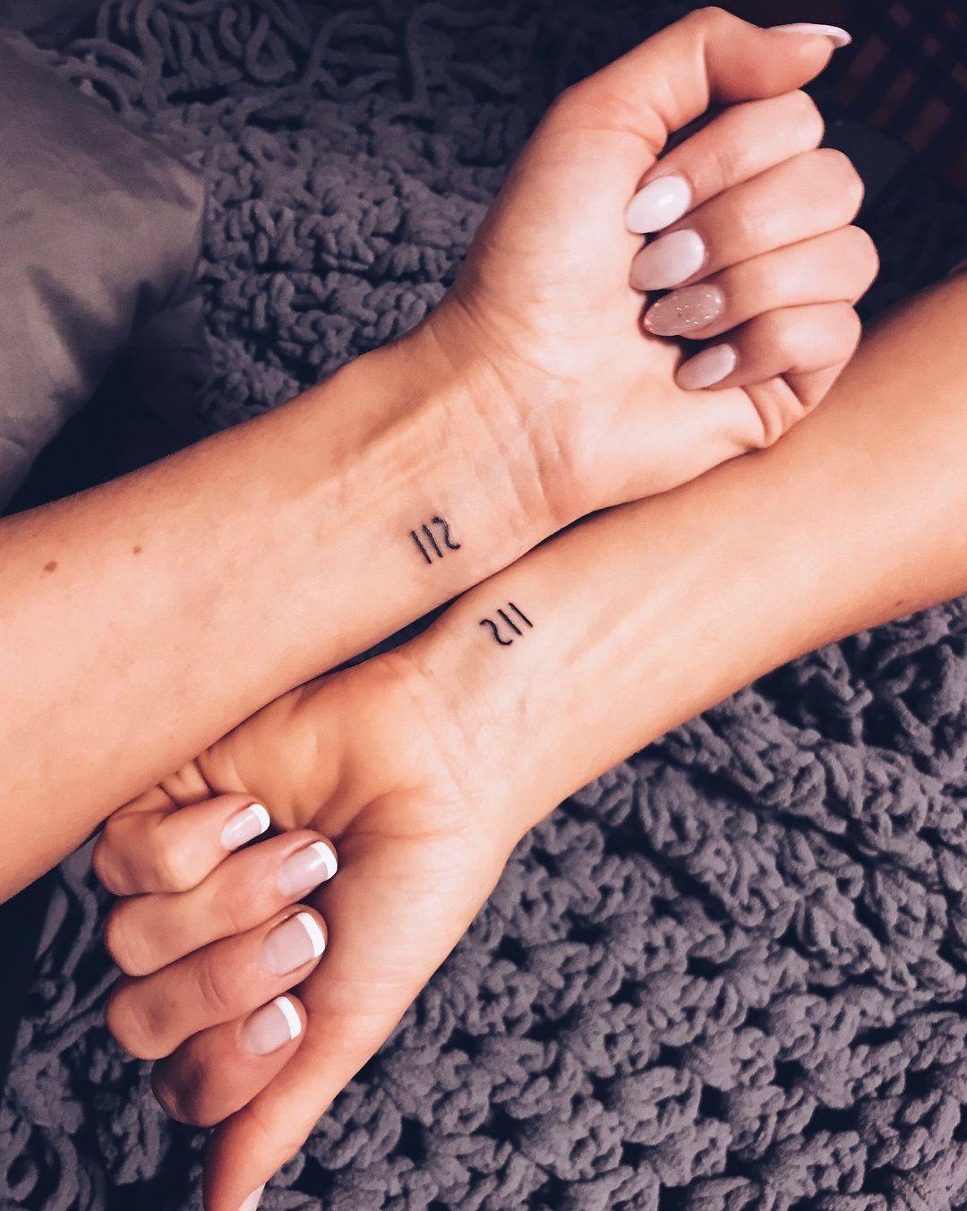 Girl Best Friend Matching Tattoos (6)