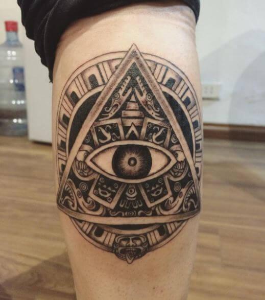 Illuminati Symbol Maori Tattoos