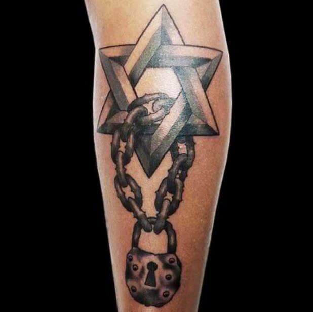 Jewish Star Tattoos