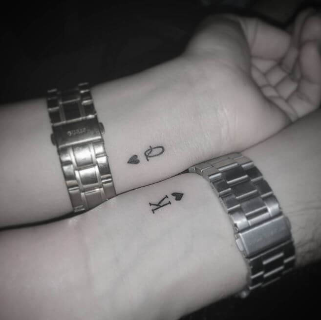 King And Queen Tattoo Ideas