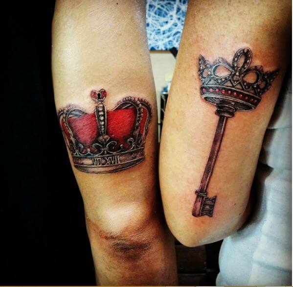 King And Queen Tattoo Tumblr