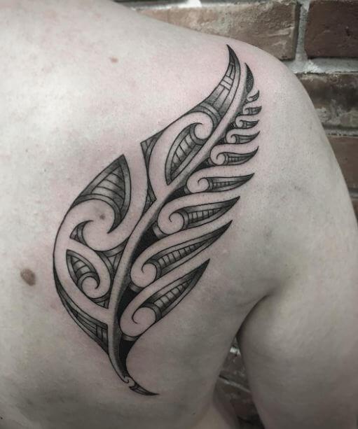 Leaf Maori Tattoos