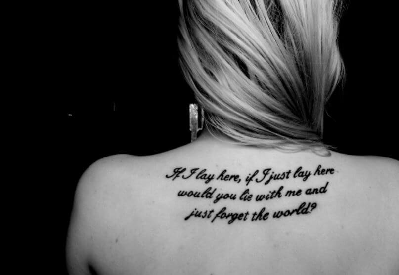 Love Quote For Tattoos