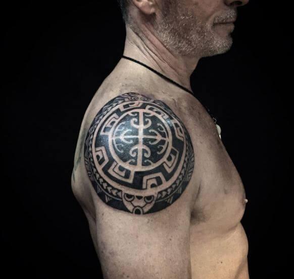 Maori Tattoos On Shoulder