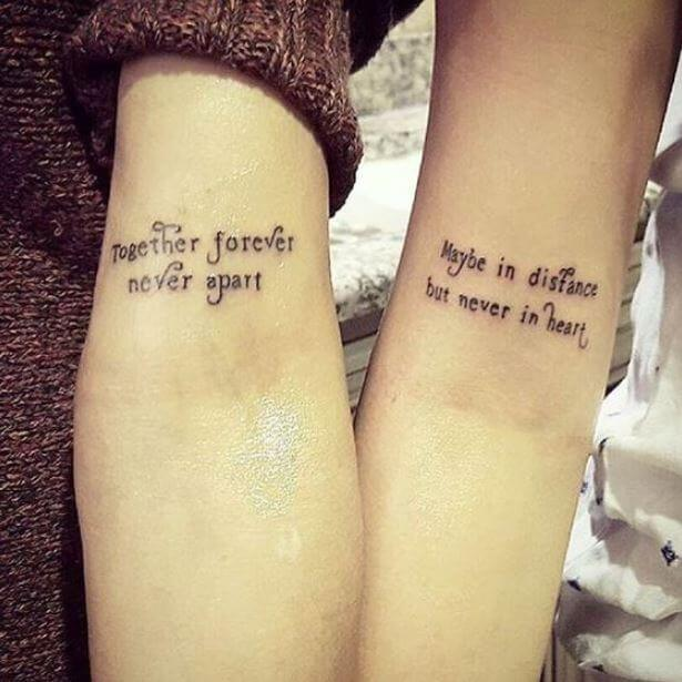 Mother Daughter Quote Tattoos