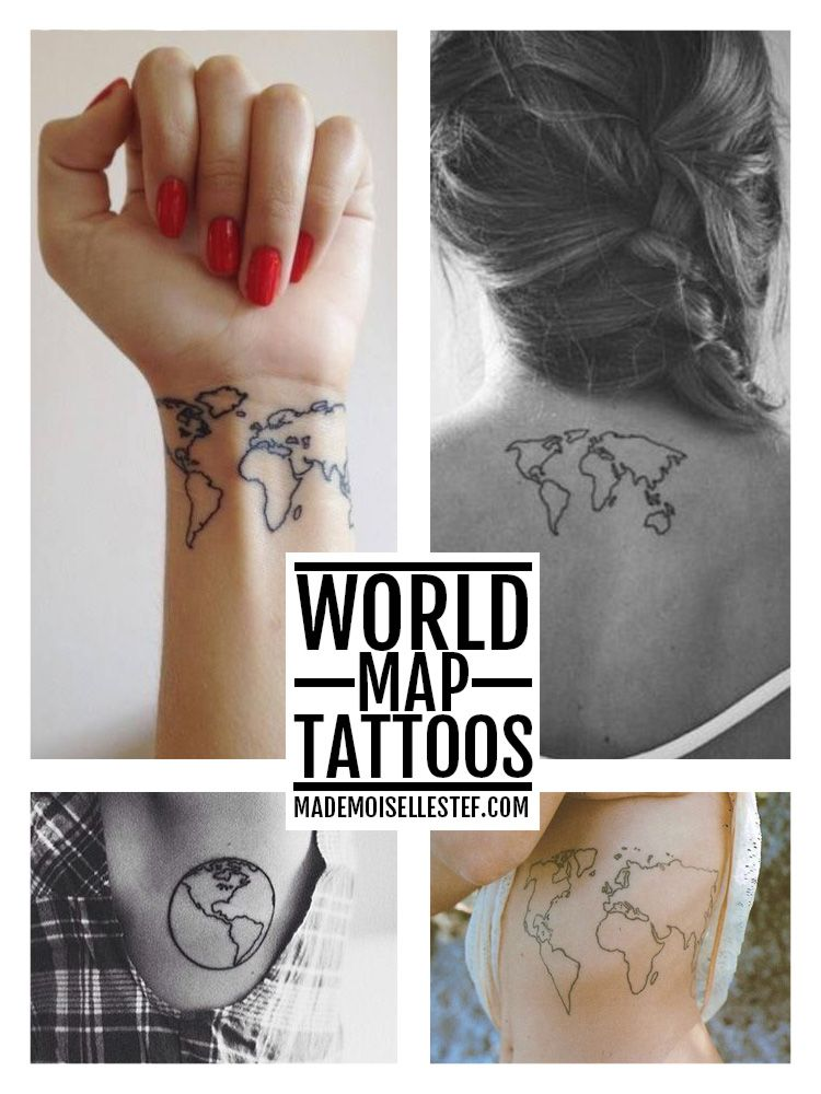 Nautical Pirate Map Tattoos (15)