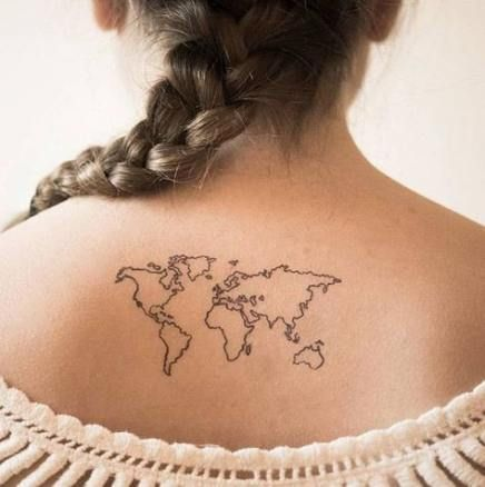 Nautical Pirate Map Tattoos (179)