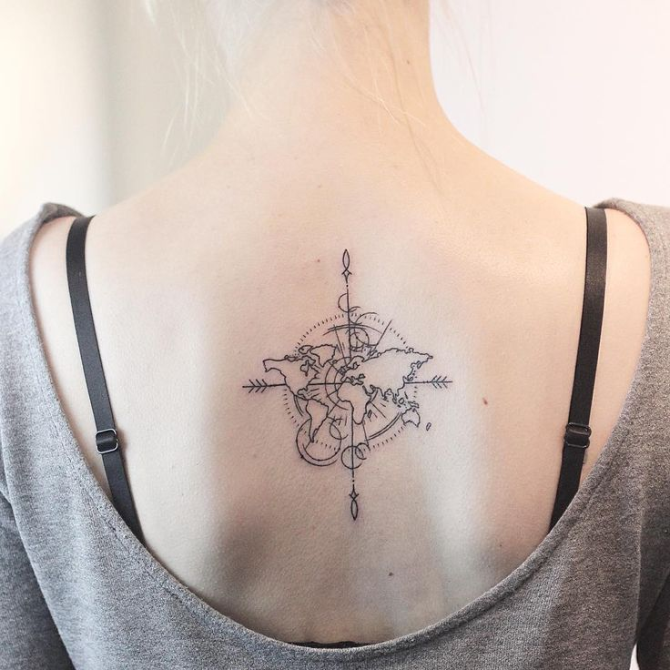 Nautical Pirate Map Tattoos (9)
