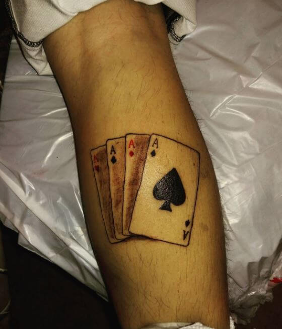 Nice Calf Tattoos