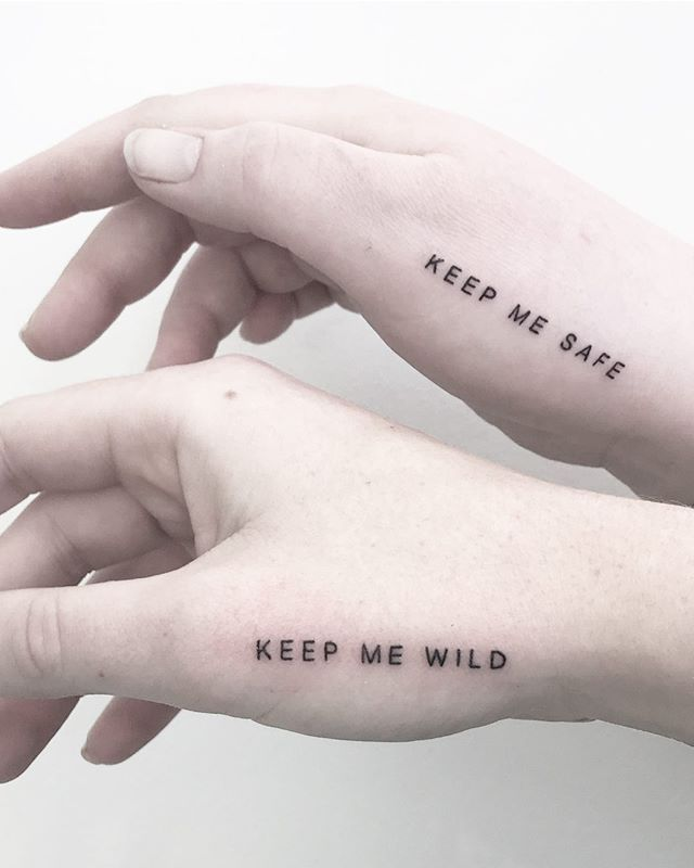 Peanut Butter And Jelly Matching Tattoos (2)