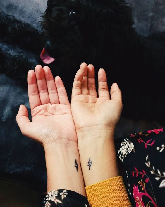 Peanut Butter And Jelly Matching Tattoos (3)