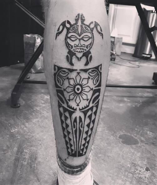 Polunesian Maori Tattoos