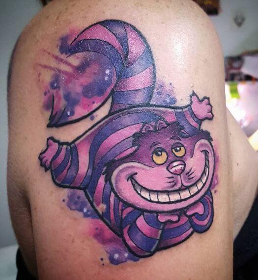Pretty Alice In Wonderland Tattoos