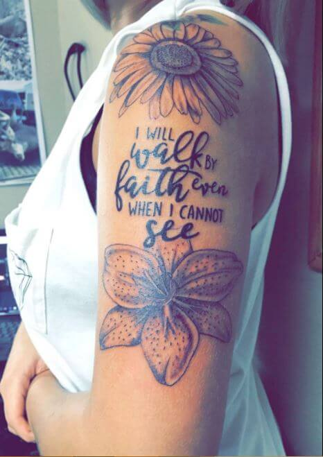 Quote Tattoos For Females