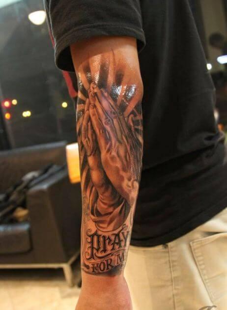 Religious Arm Tattoos