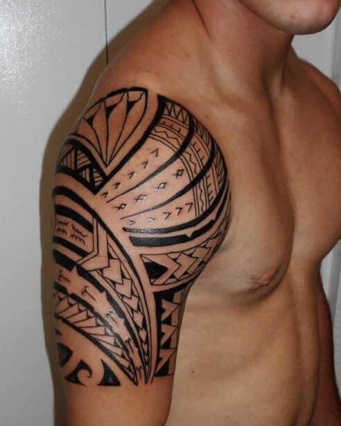 Simple Tribal Tattoo