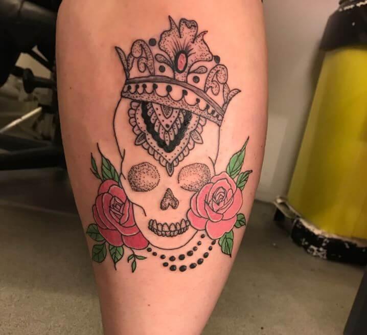 Skull Calf Tattoos