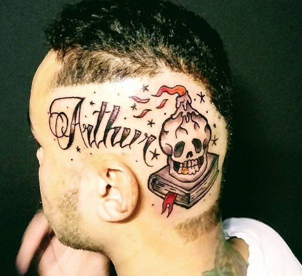 Skull Head Tattoos