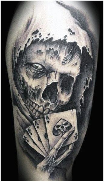 Skull Tattoos For Men 1