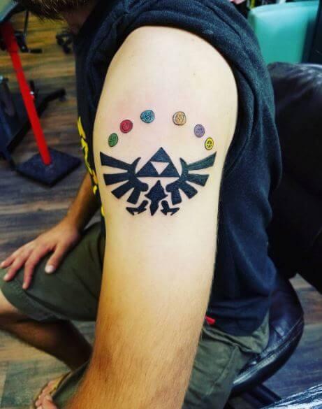 Small Zelda Tattoos