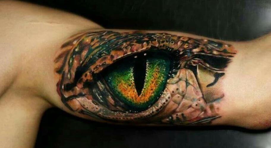 Snake Eyes Tattoo