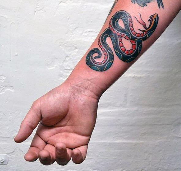 Snake Tattoos For Men
