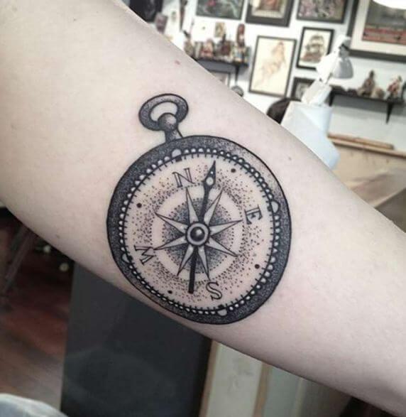 Star Compass Tattoo