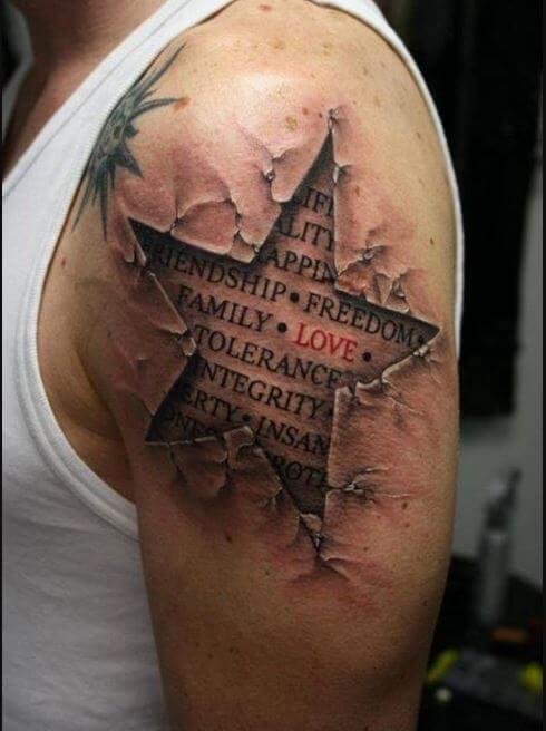 Star Half Sleeve Tattoos