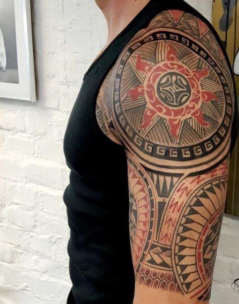 Sun Maori Tattoos