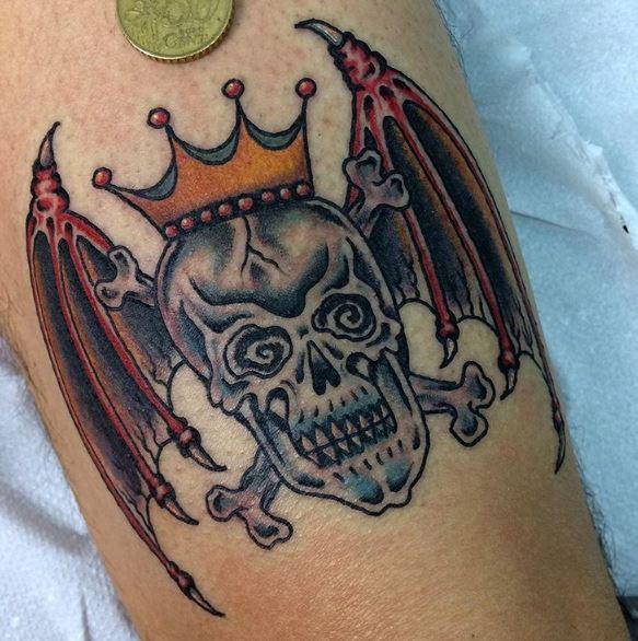Traditional Skull Tattoos