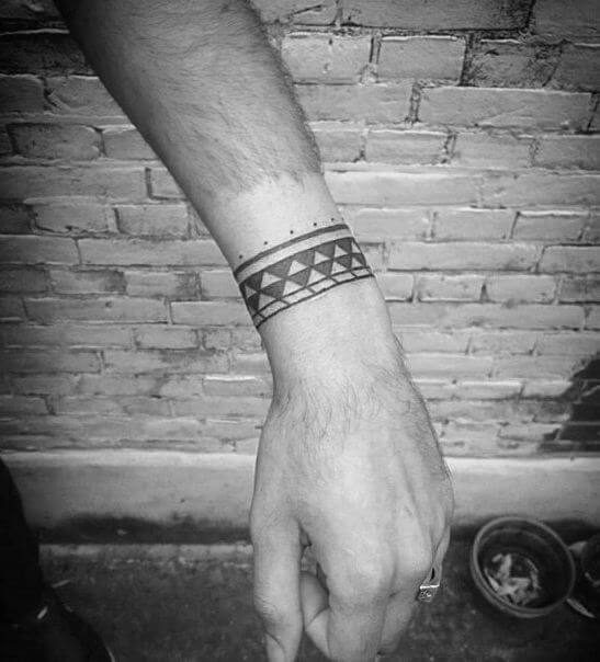 Tribal Wrist Tattoos