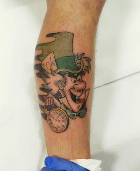 Unique Alice In Wonderland Tattoos