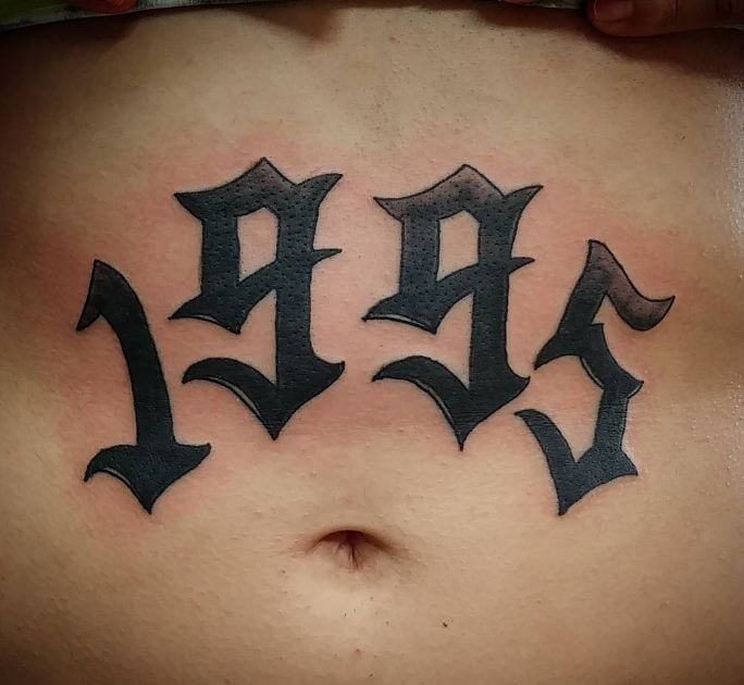 Unique Stomach Tattoos