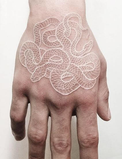 White Snake Tattoo